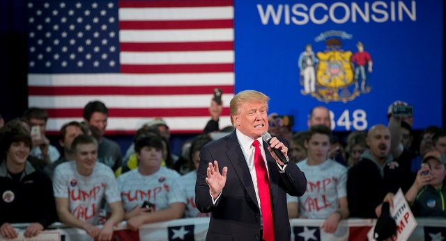 Donald Trump Holds Town Hall In Wisconsin Ahead Of State Primary